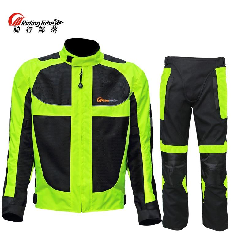 summer Motorcycle men s woman s jacket Moto Protective Gear Jacket men Racing Reflective oxford clothing