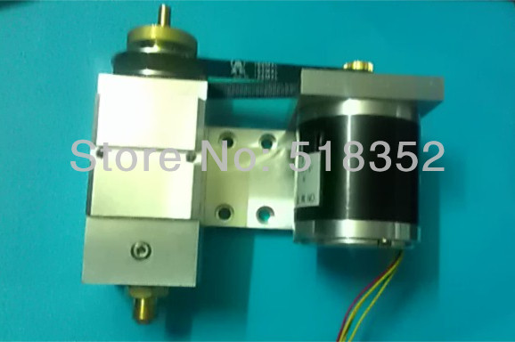 Rotating Assembly Set for Baoma EDM Drilling Machine, including 27V DC Geared Motor Drive dia.55mm, Belt, Isolator Plate gear box drive rotation assembly for baoma small hole edm drilling machine