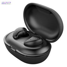 Seovo mini QI wireless earphones with charging box touch control handsfree waterproof power bank earbuds headfree bluetooth 5.0