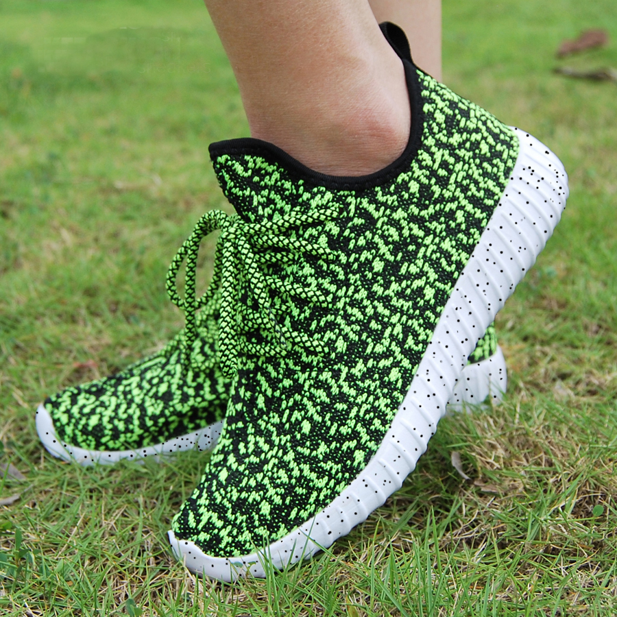 16 new black color sport shoes woman and man,new idea computer woven breathable sneakers woman & man,comfortable shoes 19