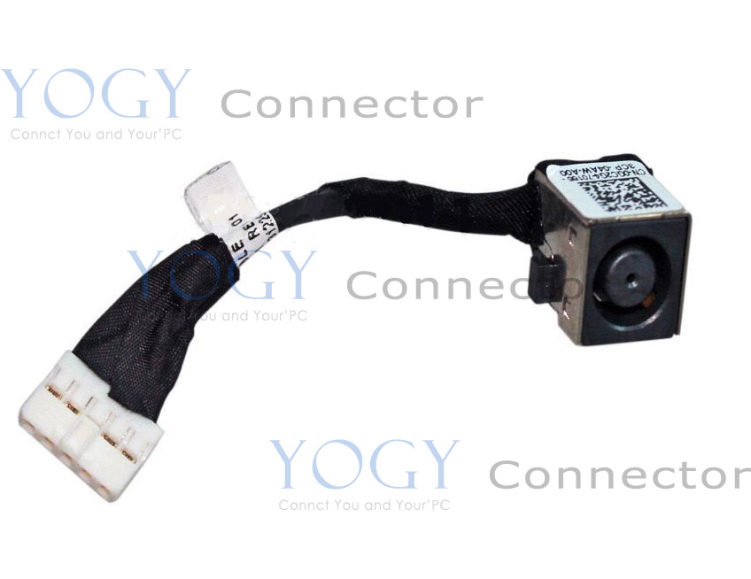 1pcs DC power jack connector with cable fit for Dell Vostro V130 V131 Inspiron 13R N311Z M311 series laptop dc socket port