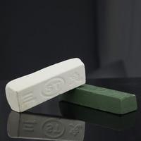 2pcs White Green Sharpener Metal Polishing Paste Green Abrasive Paste Polishing Wax For Razor Knife