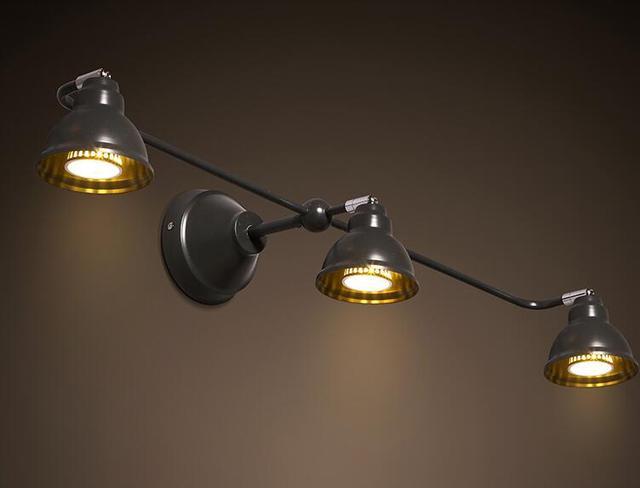 Industrie Metall Wandleuchte Lampe Gu10 Wandlampen Küche Industrie ...