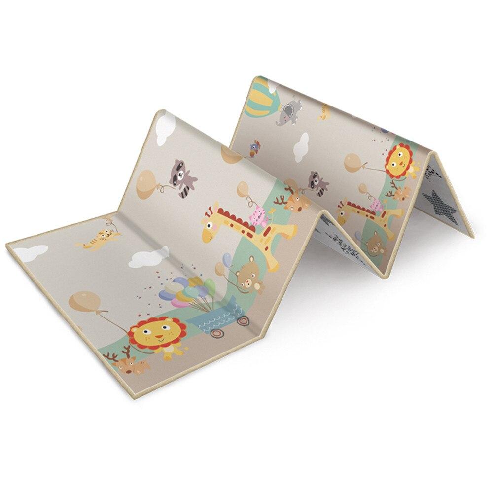 200*180*1 cm Portable pliable bébé escalade Pad jouer tapis mousse Pad XPE environnement insipide salon jeux couvertures pour enfants
