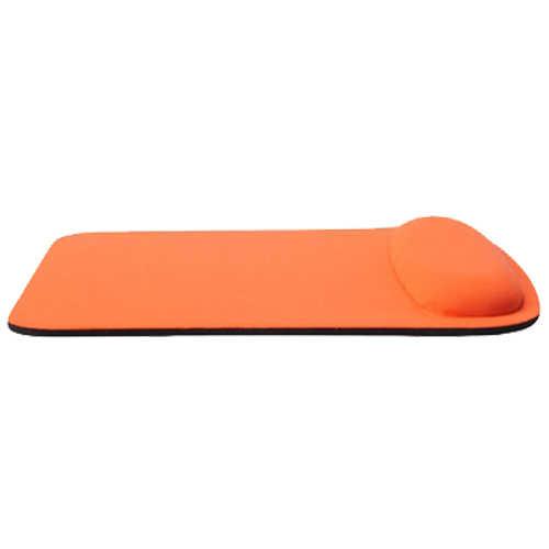 長方形腕時計サポート布 + EVA マウスパッドマウスマット計算ブラック/ブルー/ローズレッド/orange 210*230*20 ミリメートル