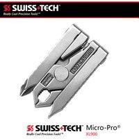 Швейцарские технологии 6 в 1 Многофункциональный Открытый инструмент зажим мини-плоскогубцы портативный складной инструмент EDC оборудован...
