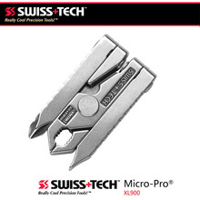 Swiss Tech 6 in 1 Multi - function Outdoor Tool Clamp Mini - pliers Portable Folding Tool EDC Equipment Pocket Camping Gear Kits