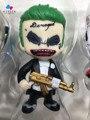 Kissen 6 pçs/set Filme DC COMICS Série do Desenhista Colecionáveis Harley Quinn O Coringa do Esquadrão Suicida Katana Deadshot Encaixotado Brinquedo Mini