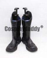 Miraculous Ladybug Cat Noir Black Halloween Cosplay Shoes Boots X002