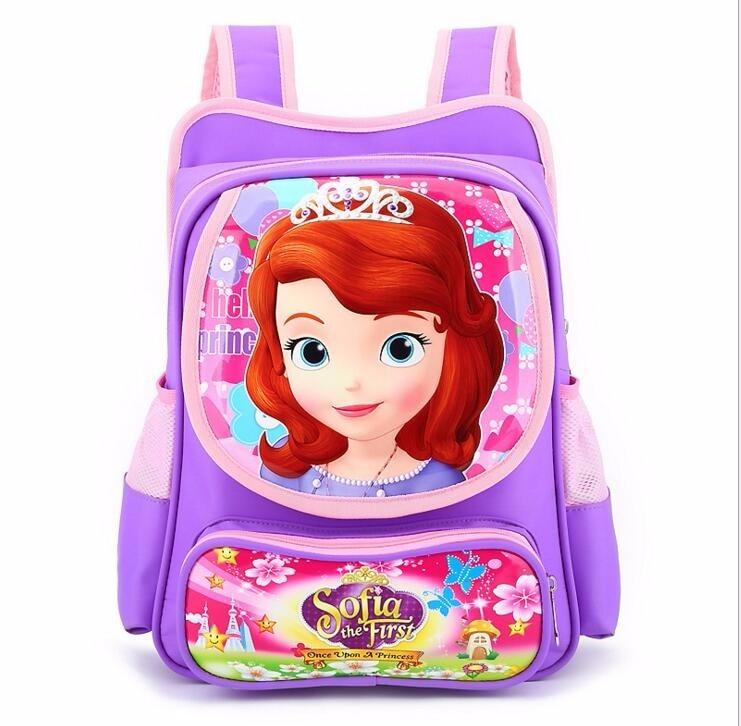 cebfe386f7f4 New fashion cute Sofia princess cartoon bags boys children school ...
