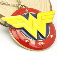 NIANA Free Shipping Wonder Woman Necklace Superhero Pendant Necklace For Women movies jewelry