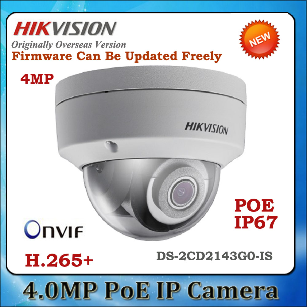 Brave Hik Ds-2cd2143g0-is 4mp H.265 Poe Network Camera With Sd Card Alarm And Audio Slot Support Face Detection 4mp Cctv Camera Back To Search Resultssecurity & Protection