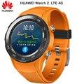 Originele Huawei Horloge 2 Slimme horloge Ondersteuning LTE 4G Telefoontje Hartslag Tracker Voor Android iOS IP68 waterdicht NFC GPS
