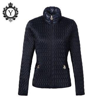 COUTUDI Nieuwe Collectie Hot Vrouwen Jas 2019 Parka Donkerblauw Winter Stijlvolle Jassen Polyester Windjack Hoge Kwaliteit Vrouwen Jas