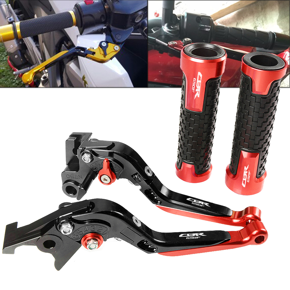 Pour Honda CBR650F CBR 650F CBR650 F CBR 650 F 2014-2016 2015 CNC moto Pivot frein embrayage leviers poignée guidon poignées ensemble