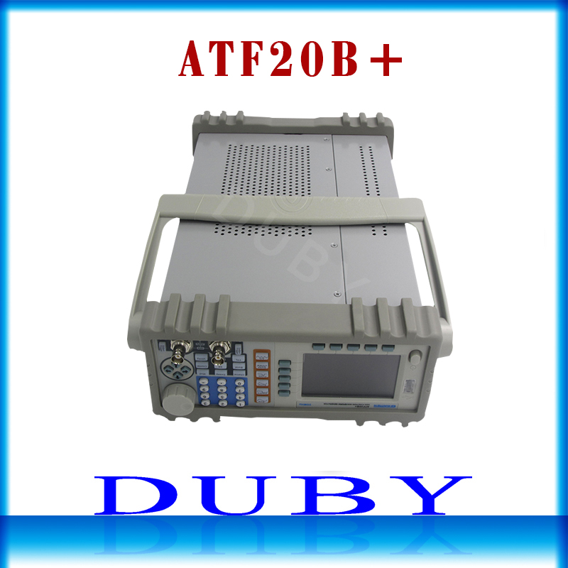 GRATTEN ATF20B DDS Function Signal Generator Double Channel Frequency Generator Meter Arbitrary Waveform 20MHz 100MSa s