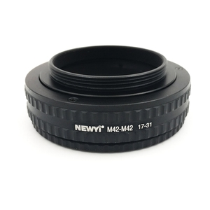 Image 1 - NEWYI M42 M42 ปรับโฟกัส HELICOID ADAPTER 17 31 มม.กล้องเลนส์อะแดปเตอร์แหวน