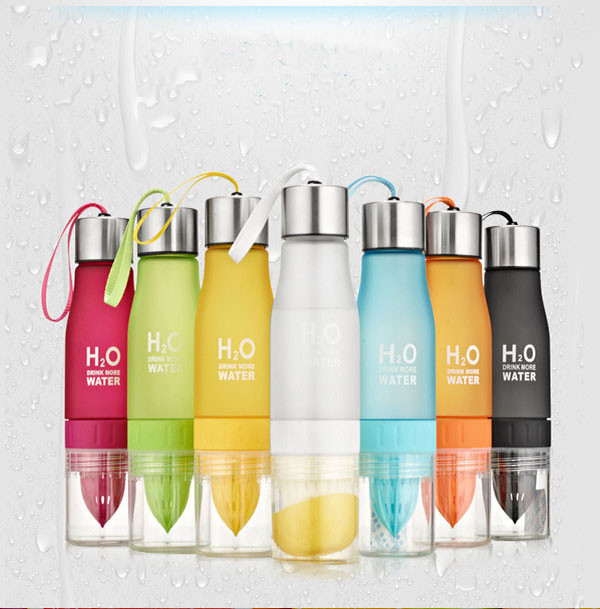 Xmas 650ml Infuser Water Bottle 20