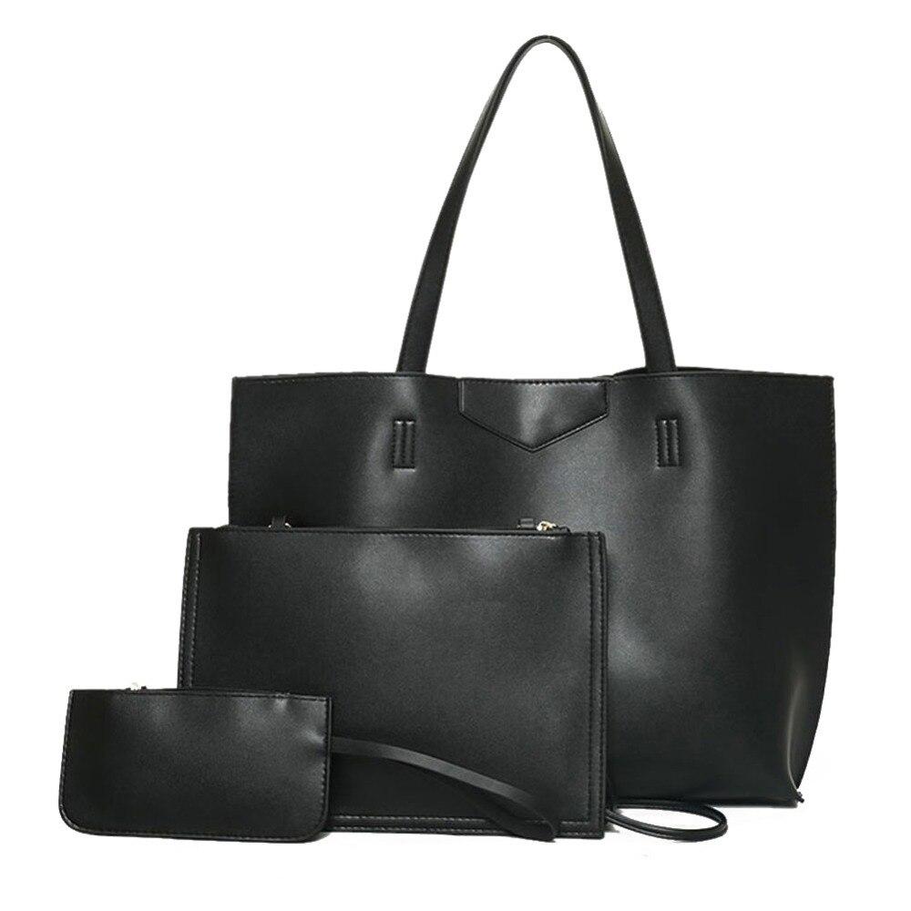 Bolsas feminina Women Bags Simple Larger Capacity PU Leather Women Shopping Bag Messenger Casual Totes Female Bag Purse Bolsa