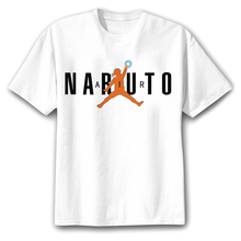 Anime Naruto 3D Print White T- Shirt in Various Styles