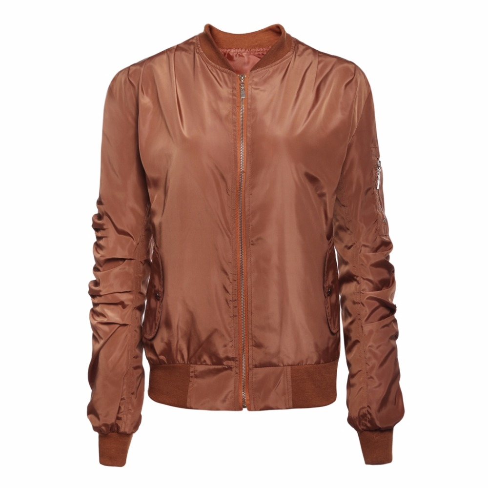Brown Baseball Jacket - Pl Jackets