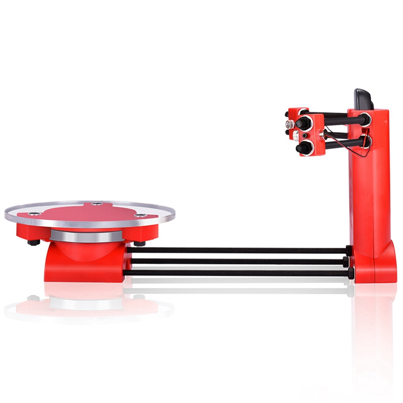 HOT-otwarte źródło Diy 3D skaner trójwymiarowy skaner formowanie wtryskowe części z tworzywa sztucznego pulpitu dla Reprap 3D drukarki