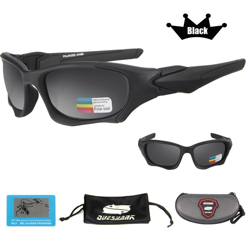 Queshark UV400 UltraLight Men Women Sunglasses Polarized Fishing Glasses Sports Goggles Cycling Climbing Hiking Fishing Eyewear 9