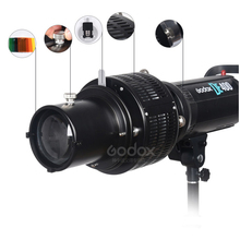 Bowens Mount Focalize Conical Snoots Photo Optical Condenser ArtพิเศษShaped Beam LightกระบอกสำหรับGodox SK400II