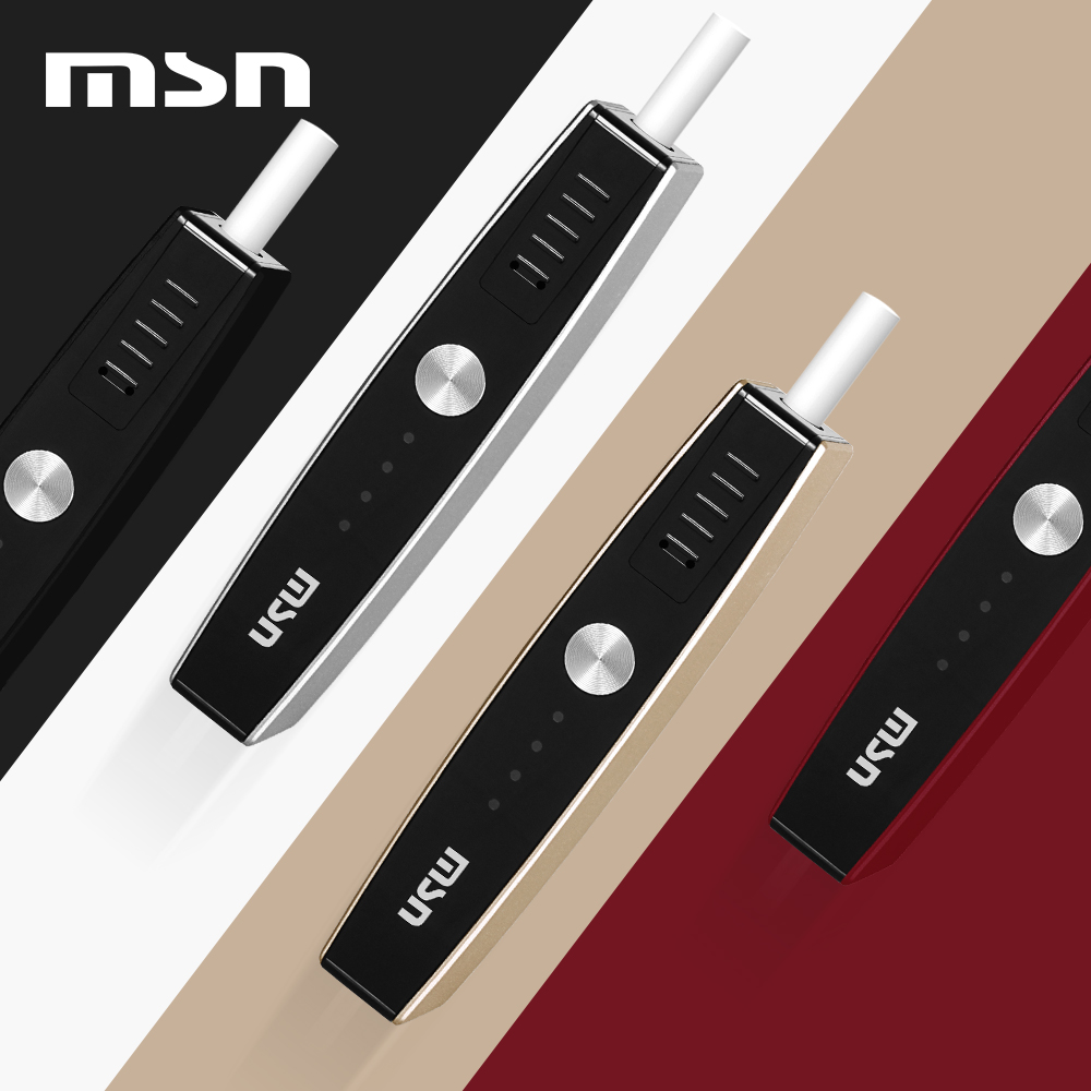2019 100% Original E Vapor MSN M1 900mAh icos Electronic Cigarette HNB Heating Cigarette Not Burn Compatibility With iQOS Stick