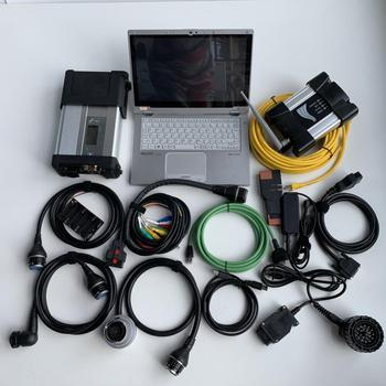 for bmw icom next 2020 wifi mb star c5 software 2 in 1 ssd with laptop cf-ax2 cpu i5 ram 8g cables full set diagnose
