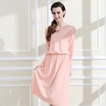 Qianxiu Hot Sale Nightgowns & Sleepshirts 2016 Women Long Style Nightdress Longue Sleep Lounge Womens cotton Nightwear 1462