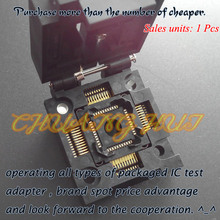 FPQ-44-0.8-19 test socket QFP44 TQFP44 FPQ44 Test Socket/IC Socket 0.8mm Size-10X10mm