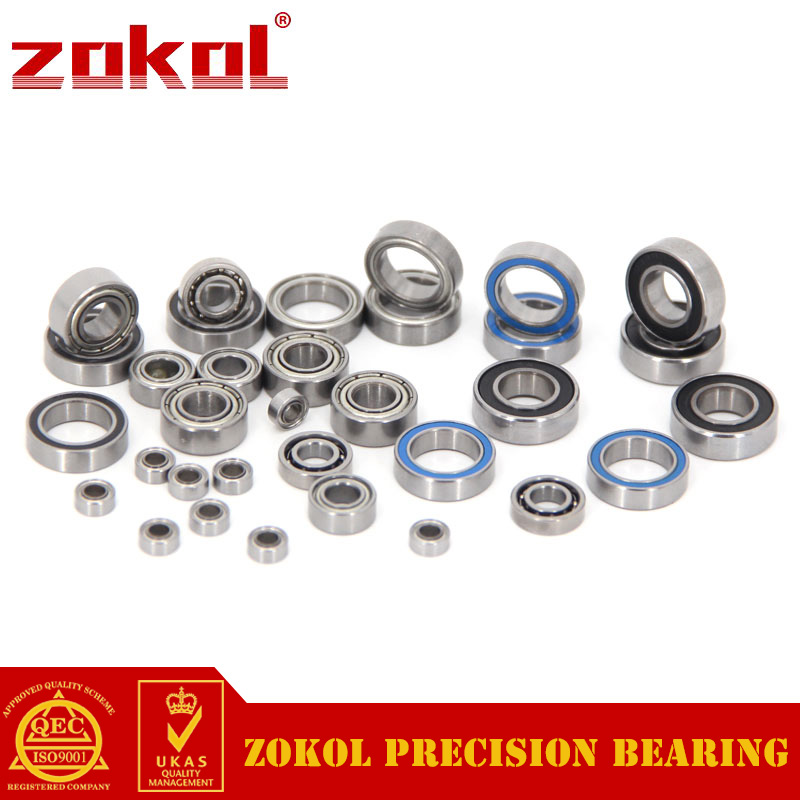 ZOKOL bearing MR117 Open.Height2.5mm Miniature Deep Groove ball bearing 7*11*2.5mm zokol bearing 6318 318 deep groove ball bearing 90 190 43mm