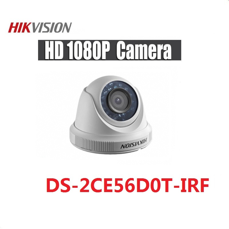 Hikvision English Version 4 in 1 Switchable DS-2CE56D0T-IRF HD1080P CCTV Security Camera IR 20m 2MP  Night Vision Indoor CameraHikvision English Version 4 in 1 Switchable DS-2CE56D0T-IRF HD1080P CCTV Security Camera IR 20m 2MP  Night Vision Indoor Camera