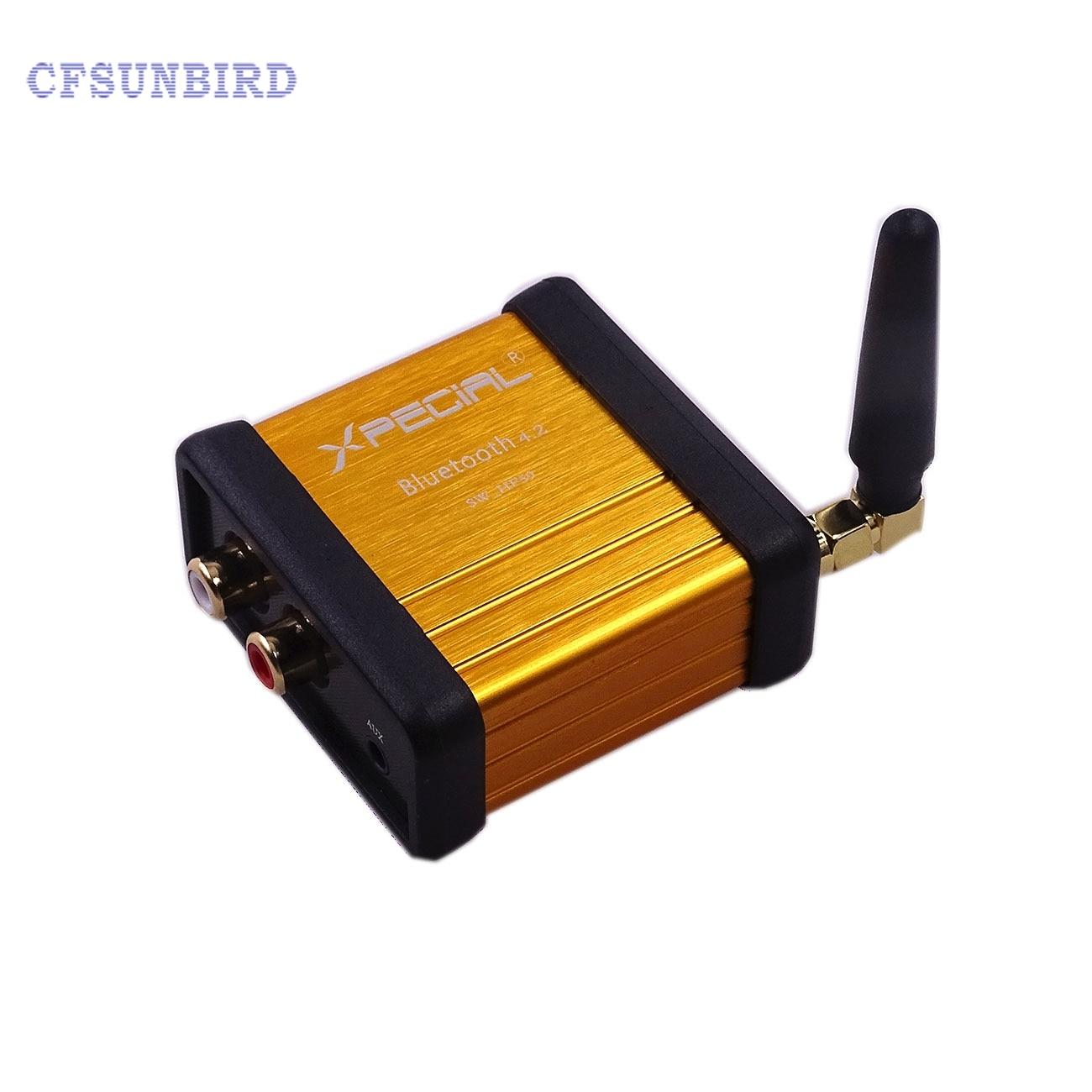HIFI Bluetooth 4.2 Stereo Audio Receiver Box CSR64215 Digital Amplifier Board -R179 Drop Shipping радиоприемник 25 hifi 25w