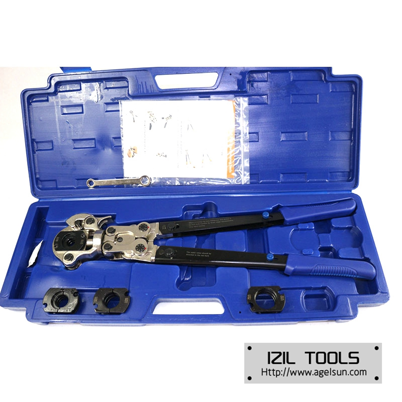 AGS-1632A Multi-azimuth Pex Pressing Tools with U dies and folding handles, adjustable  Pressure Numerical Value azimuth azimuth the touchstone depart 3 сd