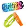 1 pcs new arrival inteligente pulseira banda cinta para xiaomi banda 2 pulseira inteligente miband mi 2 substituição de silicone de pulso cinta