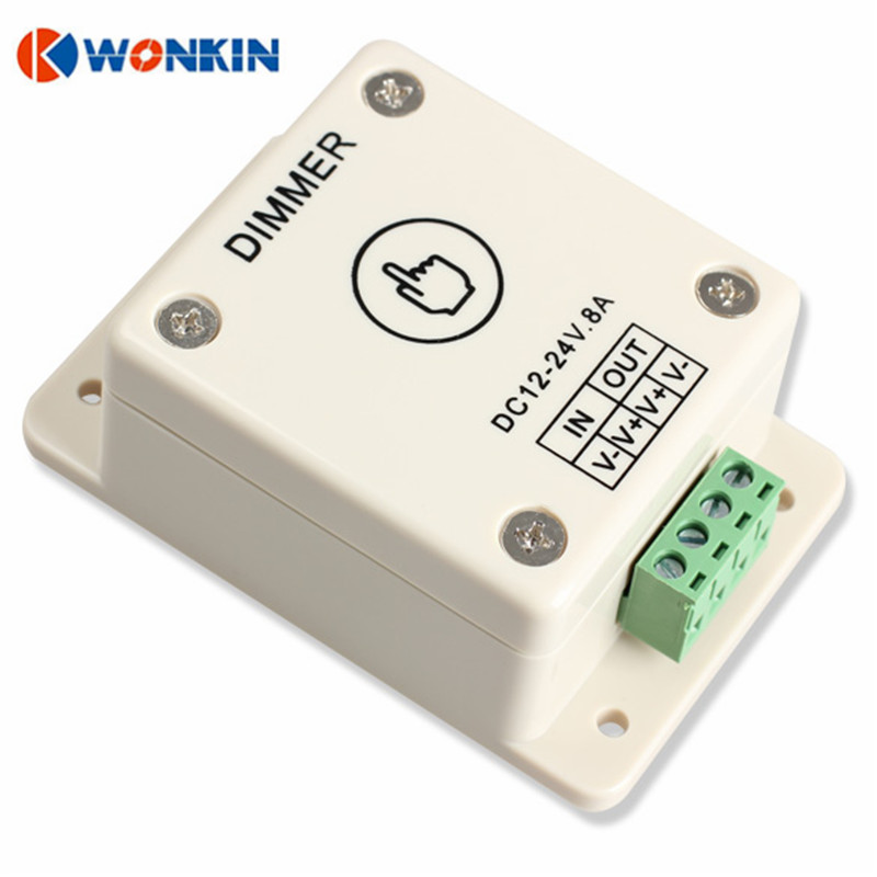 DC12-24V LED Dimmer Touch Touch Dimmer Luminozitate Control reglabil - Accesorii de iluminat - Fotografie 4