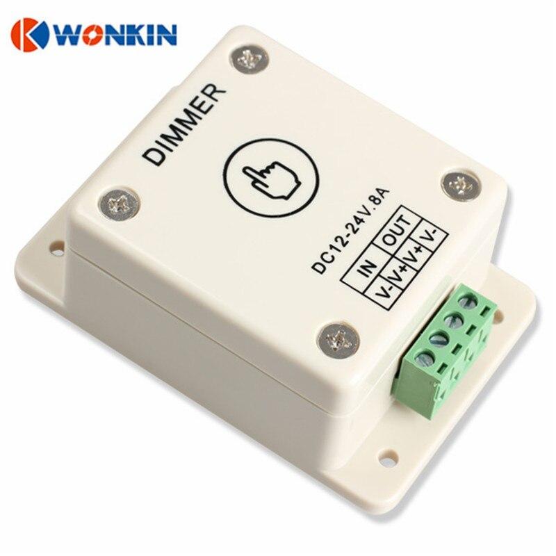 Dimmers de iluminação toque controlador dimmer Energia de Carga Máximo : 108w (12v ) / 216w (24v)