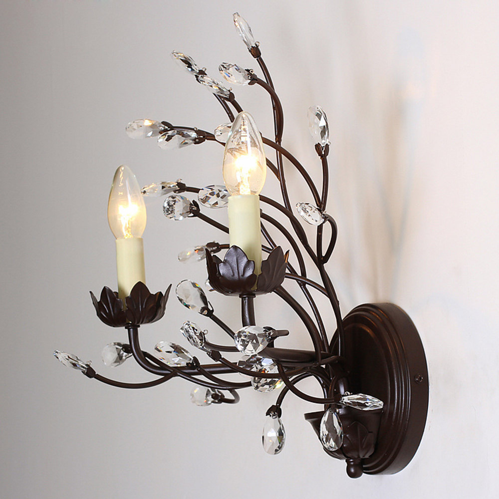 Wall Lamp Nordic Vintage Tree Branch