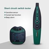 MASTECH MS5902 Circuit Breaker LED Tester Finder CATII 600V Zeroline 220V EU Circuit Breaker Detector