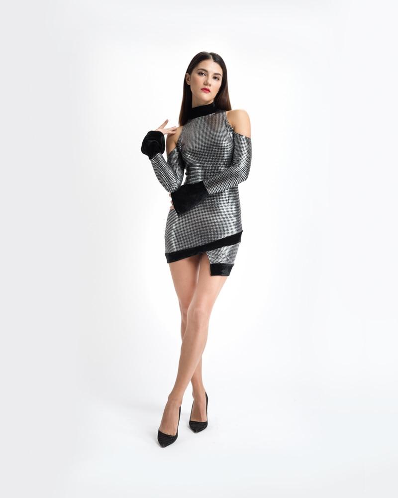 Popular Metallic Party Dresses-Buy Cheap Metallic Party Dresses ...