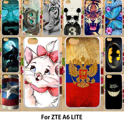 Anunob Case For ZTE Blade A6 Lite Cases Silicone TPU Covers Painted Flags Captain American Patterns Housings 5.2 inch Pakistan