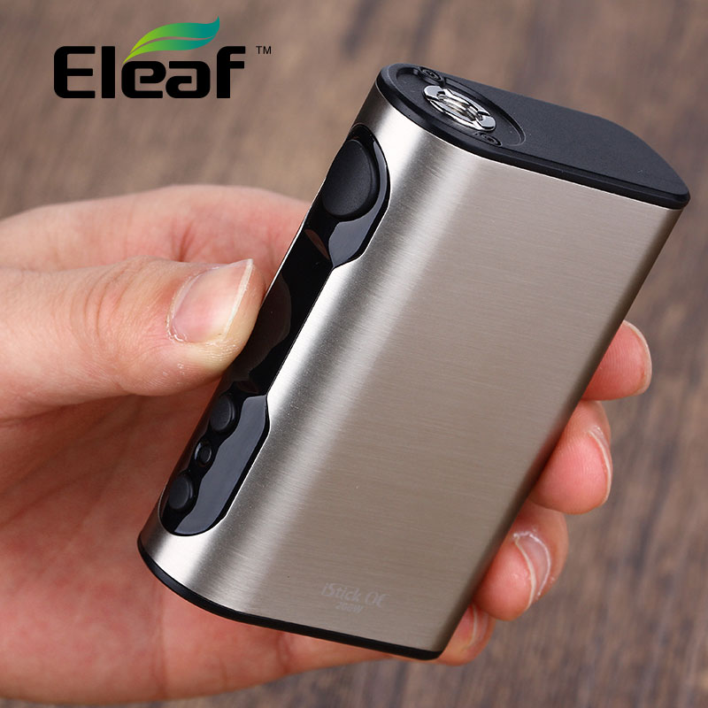 New Original Eleaf iStick QC Battery 5000mAh 200W Electronic Cigarette Mod 200W TC/VW Mod Vaping for Melo 300 Tank 510 Thread new original innokin mvp4 qc 100w tc box mod battery 4500mah mvp4 mod by aethon microchip for isub v tank e cigarette 510