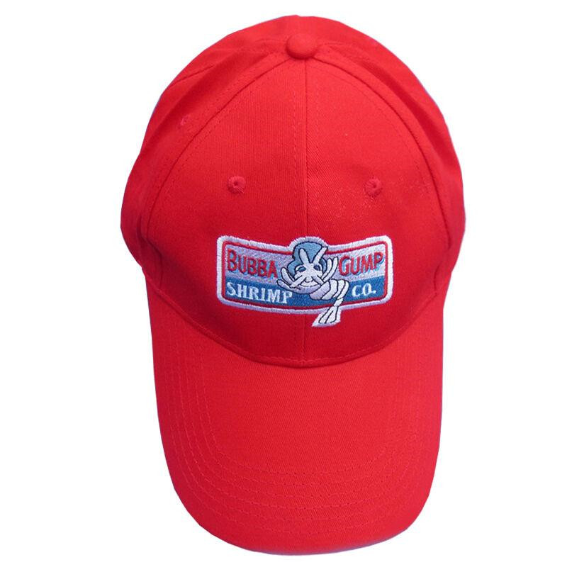 Forrest Gump 1994 BUBBA GUMP SHRIMP CO Red Snapback Hat Embroidered Baseball Cap ...