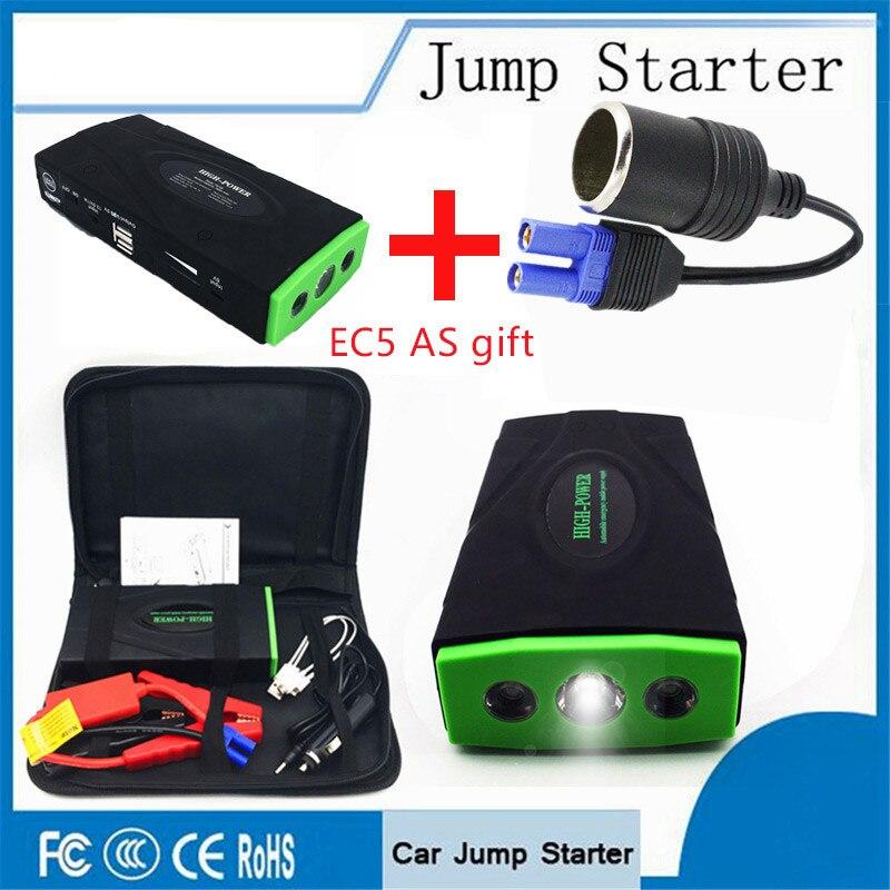 Multi-Funzione 12 v Portatile Ad Alta Potenza Salto di Avviamento Auto Di Emergenza Accumulatori e caricabatterie di riserva Per Il Caricabatteria Auto Booster Dispositivo di Avviamento
