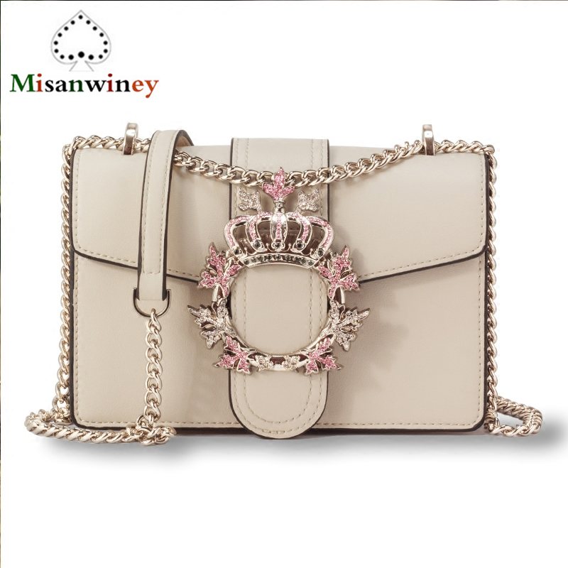 Women Bags Famous Brand Designer Tote Handbag Gold Chain Shoulder Bags Diamond Pearl Buckle Luxury Lady Flap Clutches Purse Cloe hot new black red women s bags famous brand handbag leather lady shoulder bags clutches diagonal mochila messenger casual tote