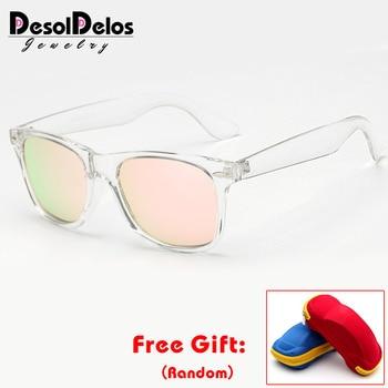 Brand Unisex Square Vintage Polarized Sunglasses mens Women Rivets Night Vision Retro Sun glasses gafas oculos UV400 with box мужские солнцезащитные очки brand new 2015 uv400 oculos gafas feminino sg02
