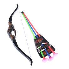 13395764a 1 Unidades niños al aire libre 35 cm divertido plástico tiro con arco de  arco y flecha juguete para Tiro Juguetes Boy regalos co.