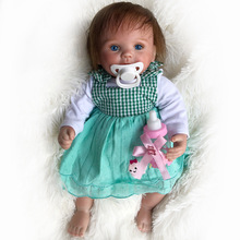 New 15inch Bebe reborn baby doll boneca reborn silicone completa realista Juguetes brinquedos christmas Kids Toys for children цены